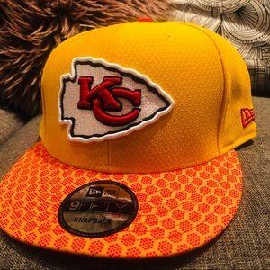 New Era Kansas City Chiefs NFL snapback hat